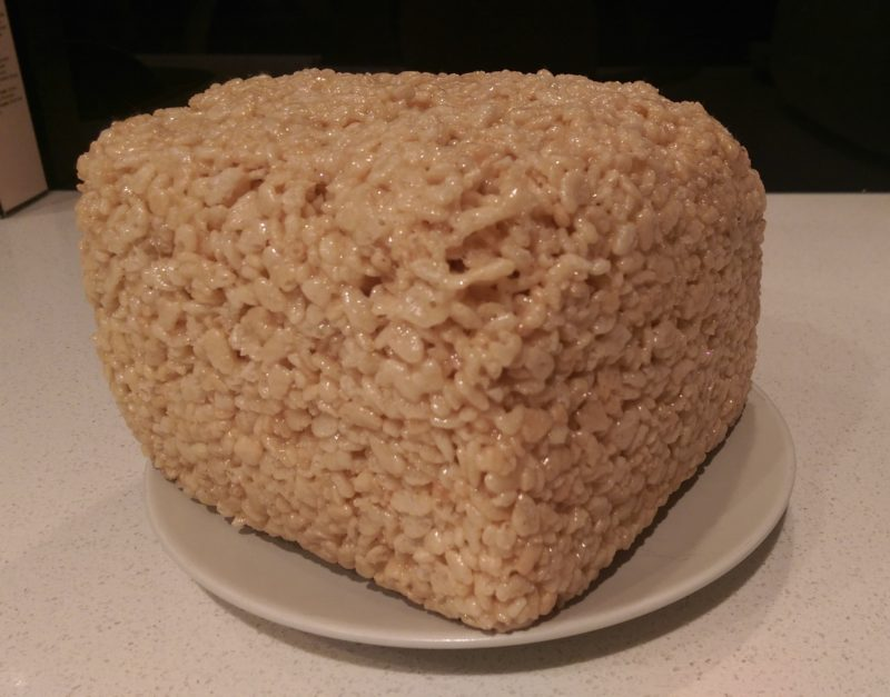 Giant Rice Krispie Square