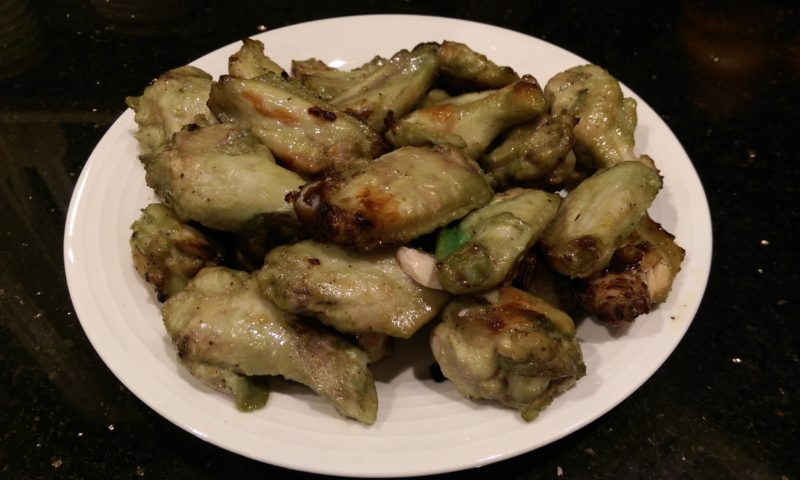 Wasabi Buffalo Wings
