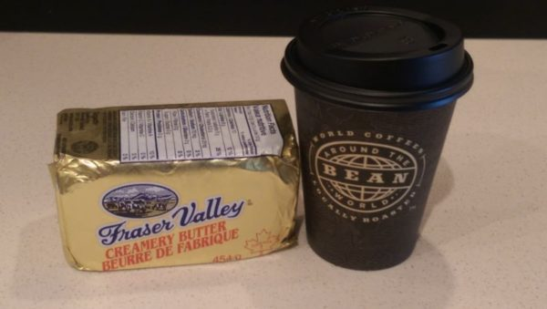 Buttered Coffee Ingredients