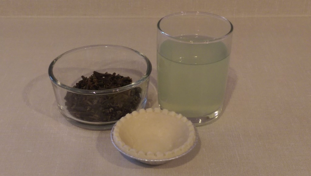 Clove Tom Collins Pie Ingredients