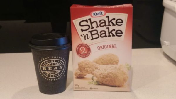 Shake and Bake Coffee Ingredients