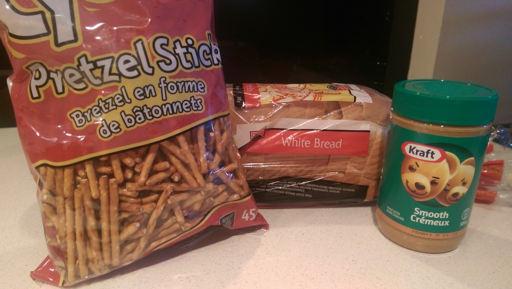 Peanut Butter And Pretzel Sandwich Ingredients