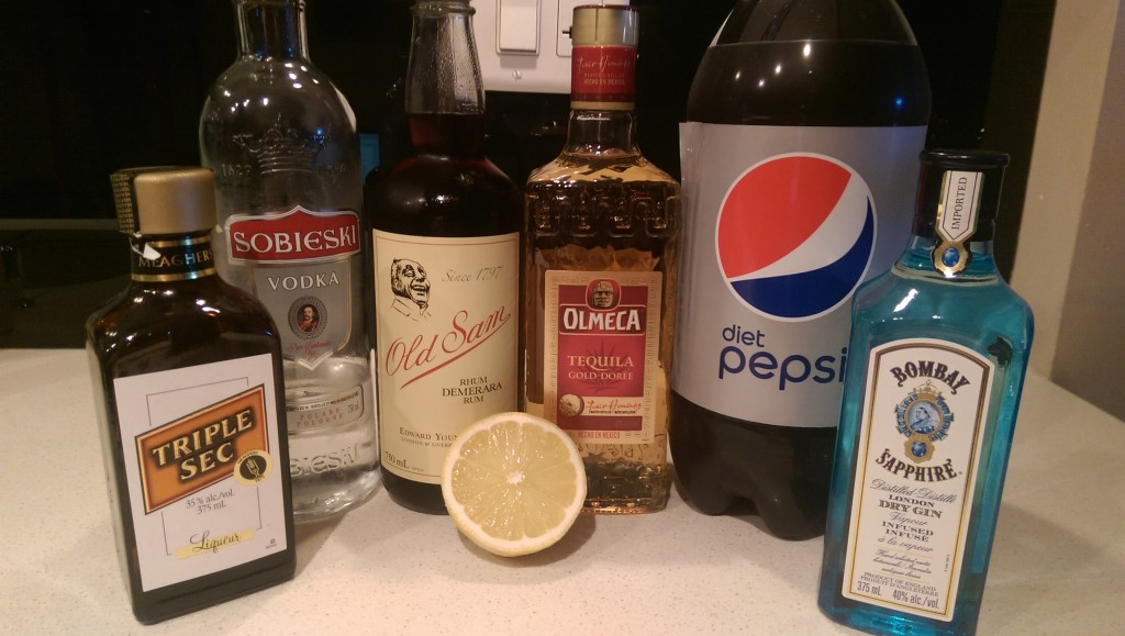 Questo's Long Island Iced Tea Ingredients