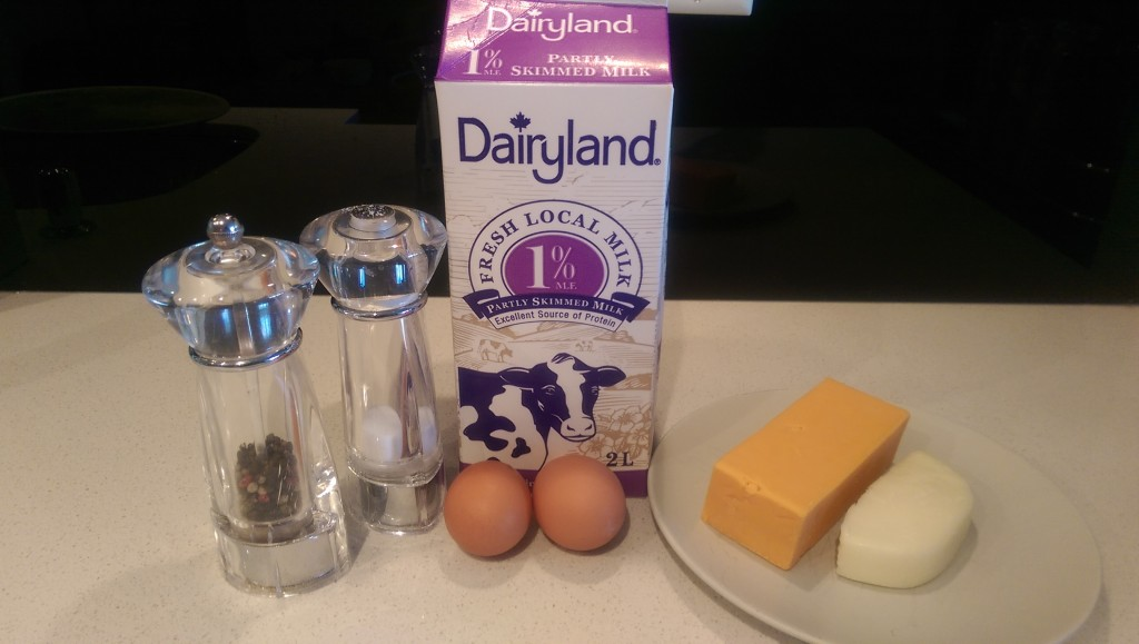 Barney's Omelette Ingredients