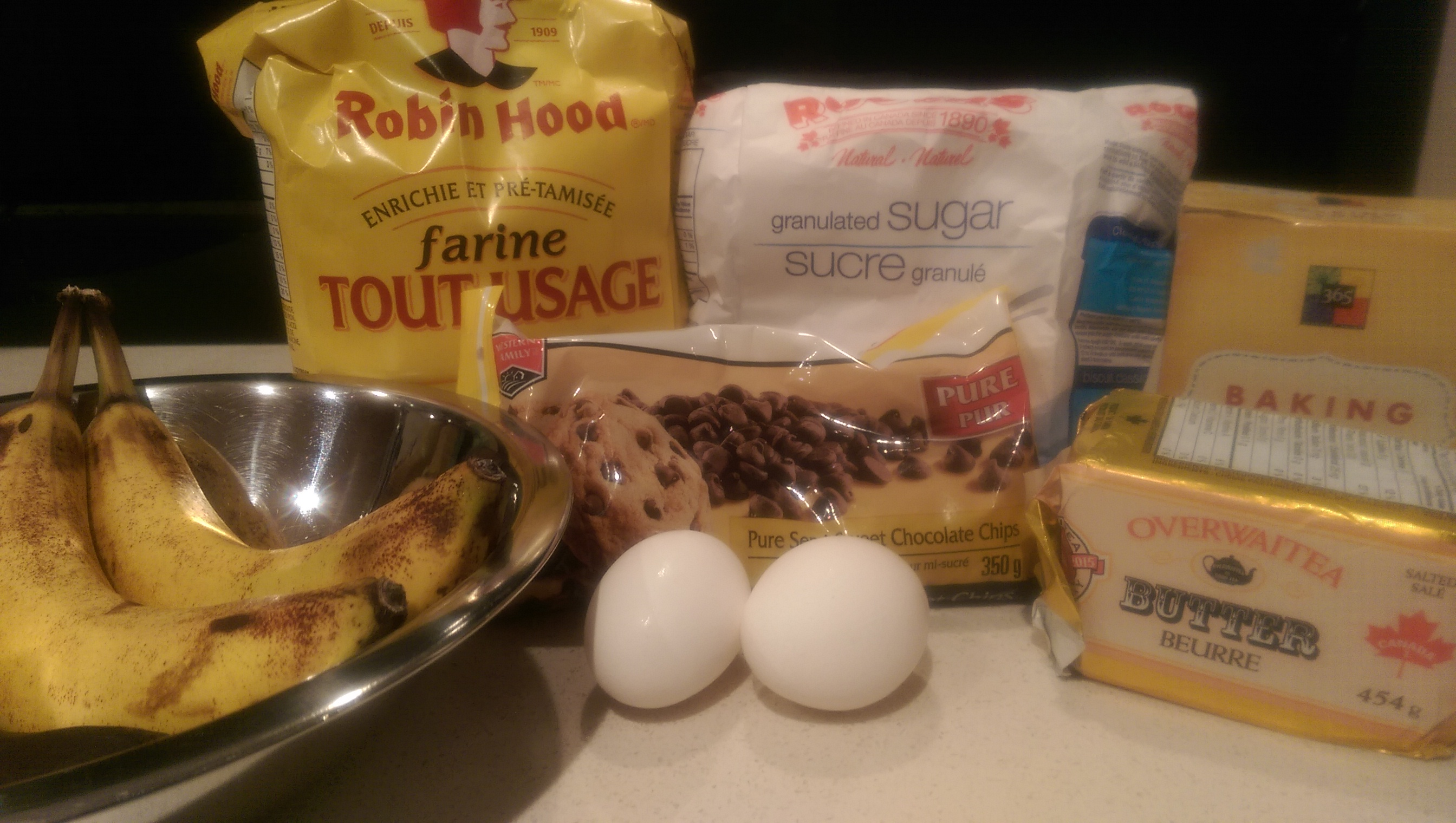 how to make banana bread ingredients
