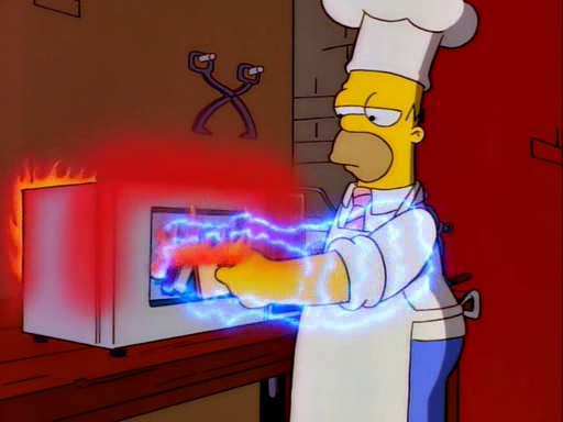 Homer's Breakfast for Mr. Burns Screenshot 1