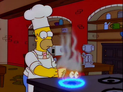 Homer's Breakfast for Mr. Burns Screenshot 2