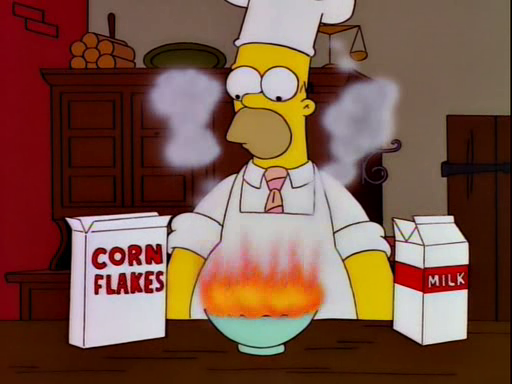 Homer's Breakfast for Mr. Burns Screenshot 3