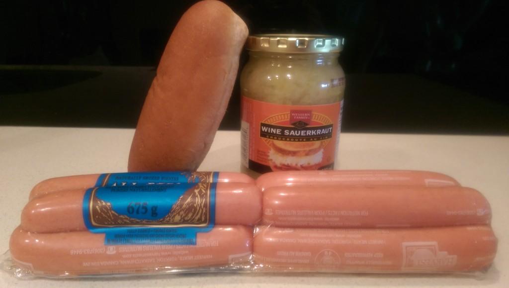 Spock's Hot Dog Ingredients
