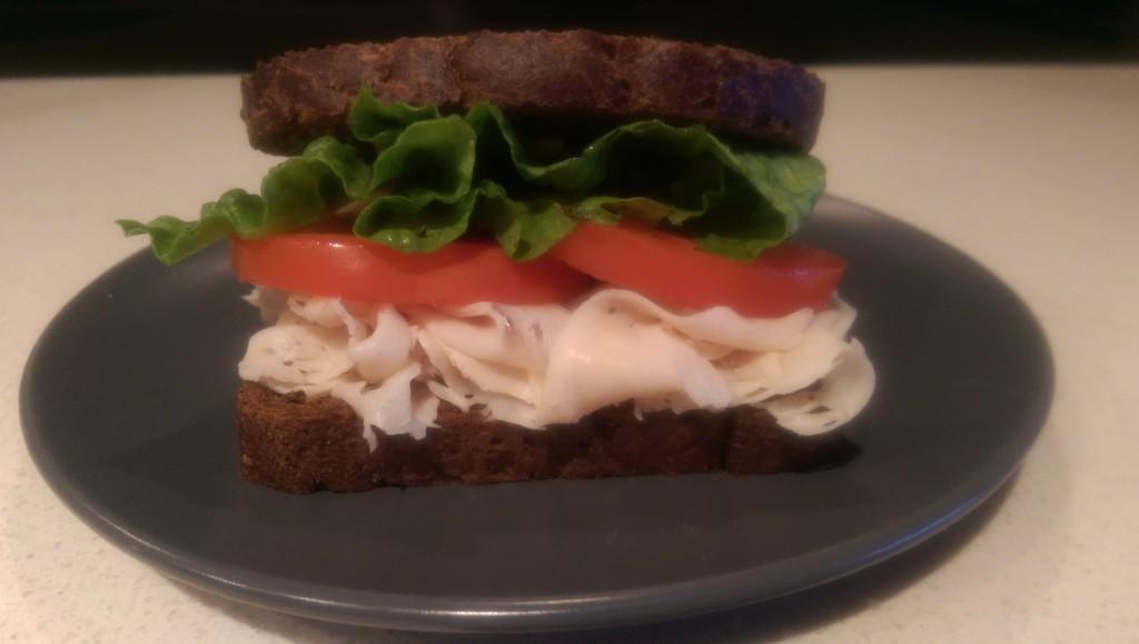 Monkey's Paw Turkey Sandwich