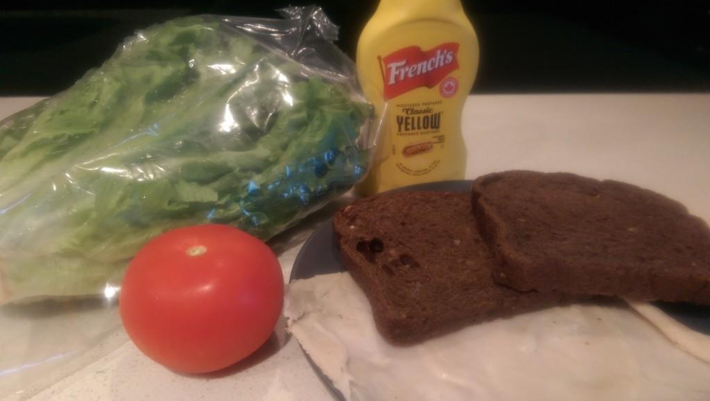 Monkey's Paw Turkey Sandwich Ingredients