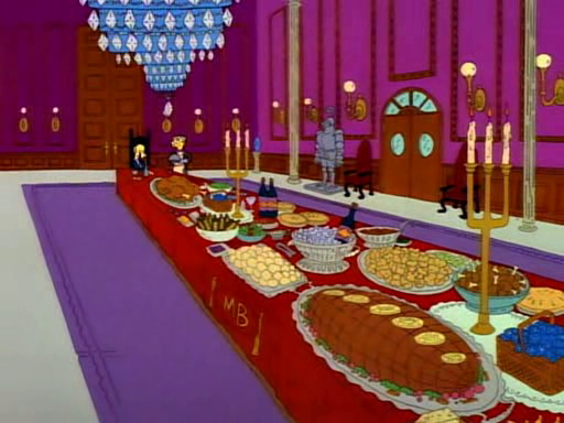 Smithers' Thanksgiving Feast