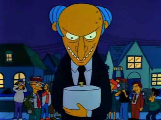 Mr. Burns' Noodle Kugel Screenshot