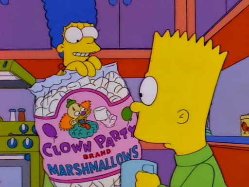 Clown Party Brand Marshmallows Screenshot