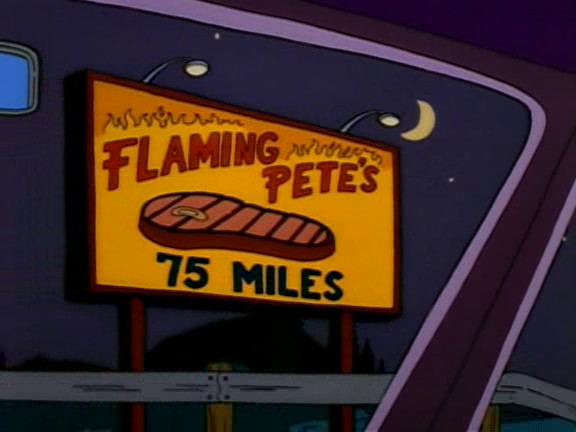 Flaming Pete's 75 Miles Screenshot