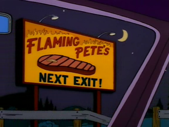 Flaming Pete's Next Exit Screenshot