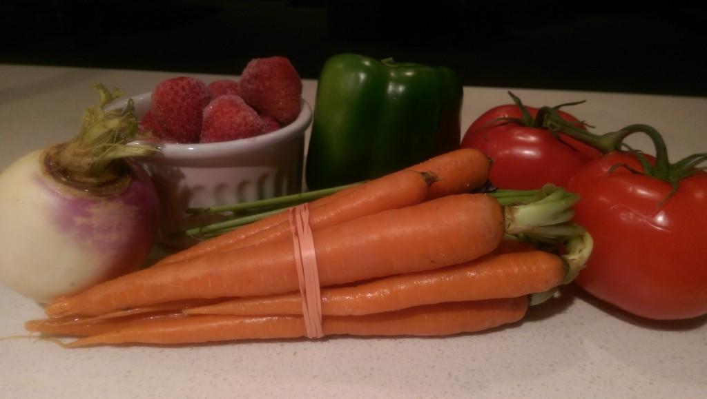 Seth & Munchie's Garden Blast Ingredients