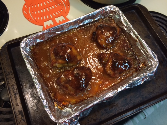 Butterscotch Chicken 2
