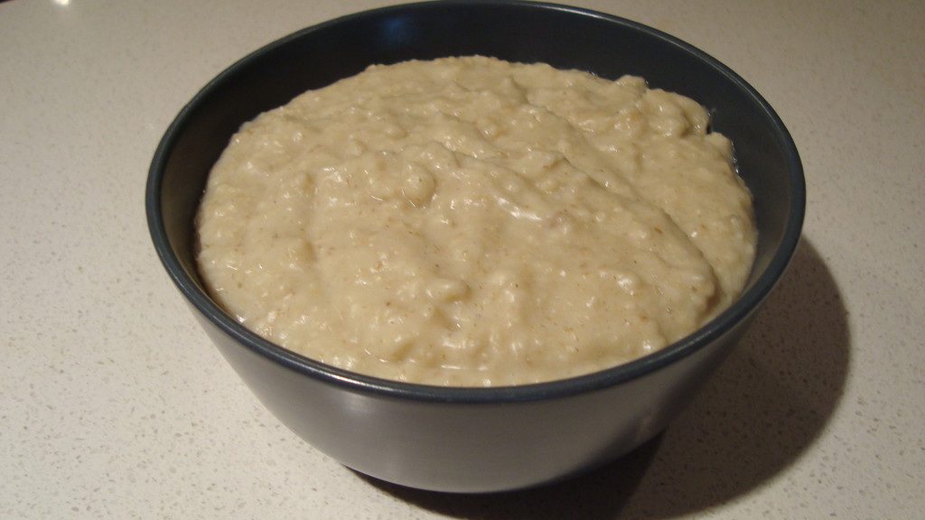 Krusty Brand Imitation Gruel Before