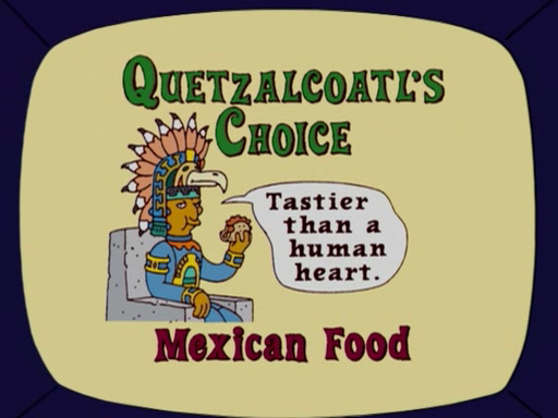 Quetzacoatl's Choice Mexican Food Screenshot