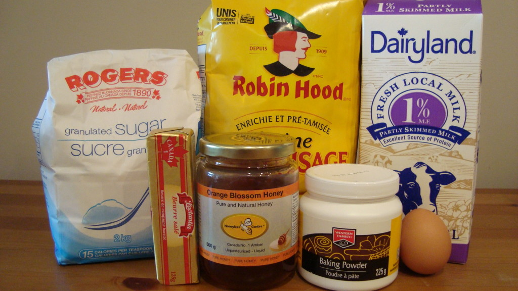Reverend Lovejoy's Stig Muffins Ingredients