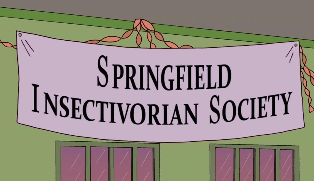 Springfield Insectivorian Society Screenshot