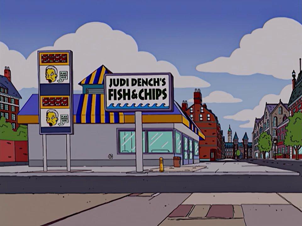Judi Dench's Fish and Chips Screenshot 1
