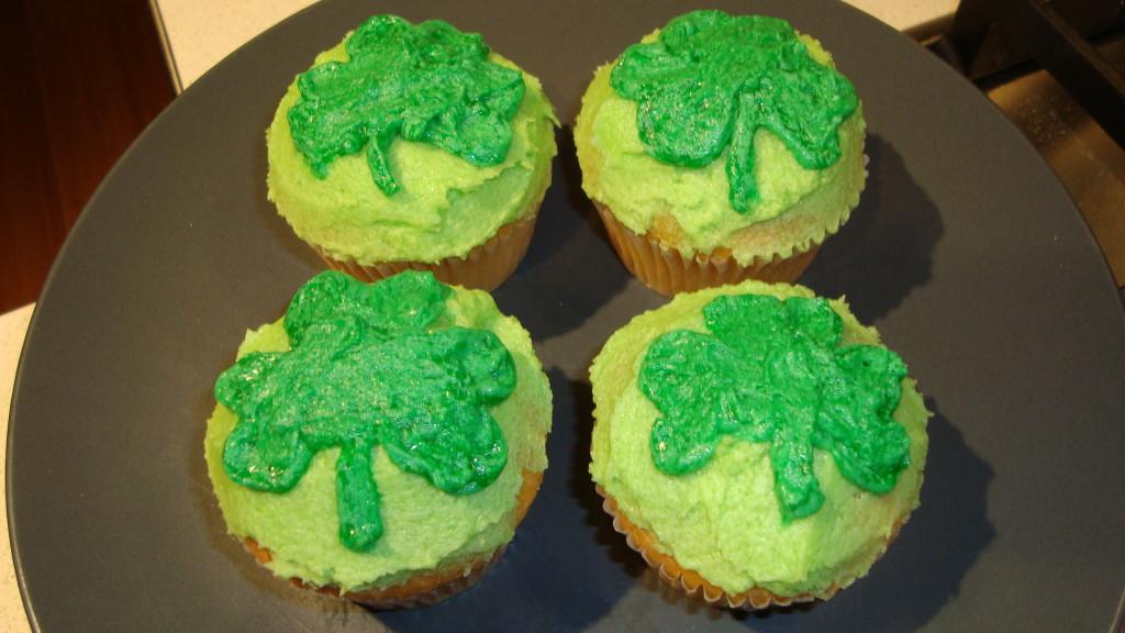 Marge's Shamrock Cupcakes