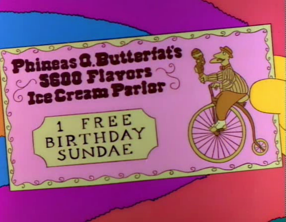 Phineas Q. Betterfat's 5600 Flavors Ice Cream Parlor 1 Free Birthday Sundae Screenshot 1
