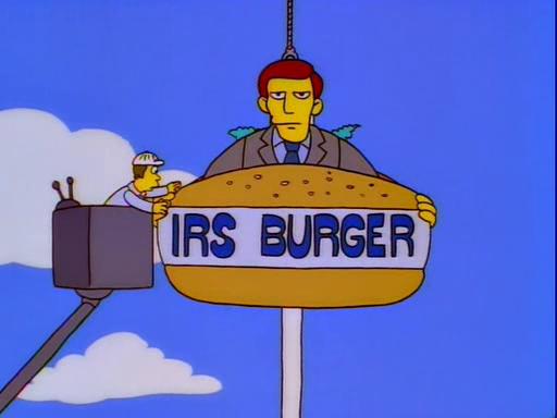 IRS Burger Screenshot 1