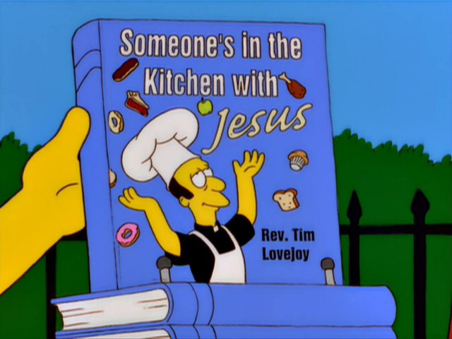 Someone's in the Kitchen with Jesus Screenshot