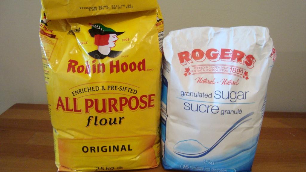 Flour vs. Sugar Bag