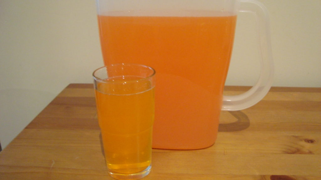 Watered Down Orange Drink