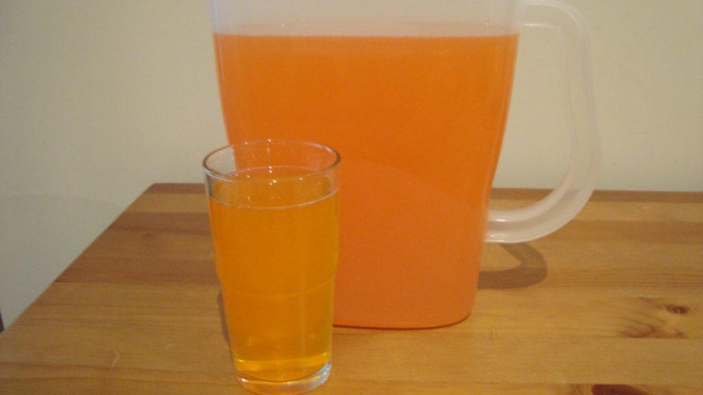 Watered Down Orange Drink