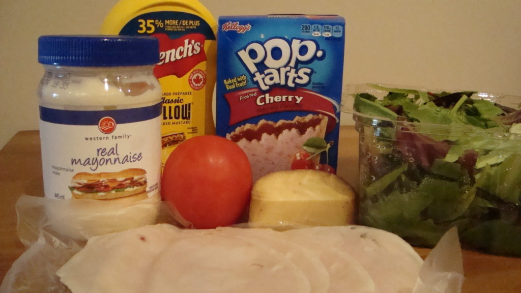 Pop Tart Sandwich Ingredients
