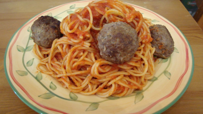 Spaghetti and Moe-Balls