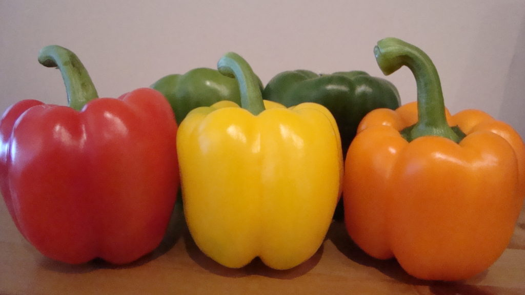 The Bell Pepper Diet