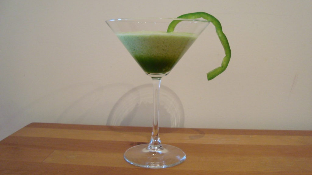 The Bell Pepper Diet Martini