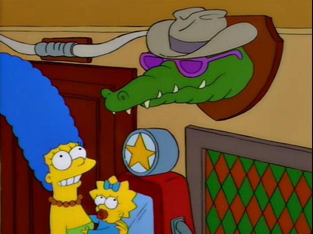 Alligator With Sunglasses Screenshot