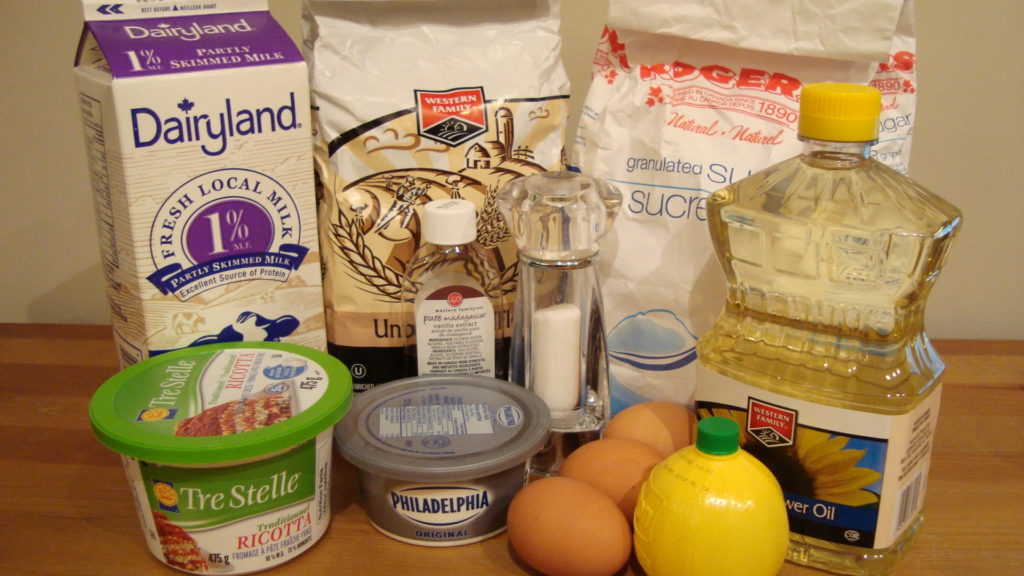 Blintz Ingredients