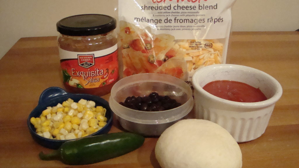 Southwestern Pizza Fingers Ingredients