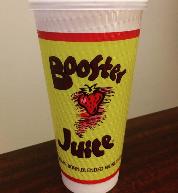 Booster Juice Raspberry Rapture
