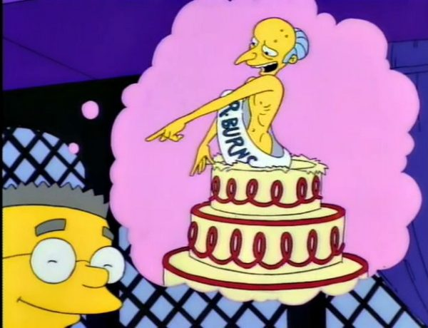 Happy Birthday Mr. Smithers Screenshot