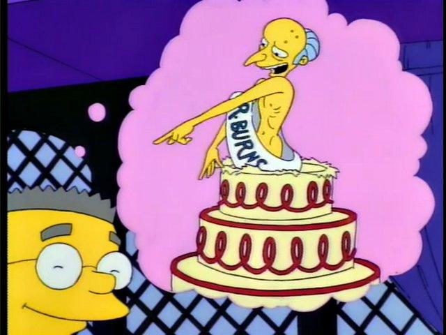 Happy Birthday Mr. Smithers Screenshot