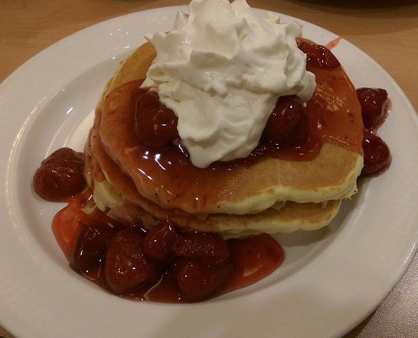 IHOP Rooty Tooty Fresh 'N Fruity Pancakes