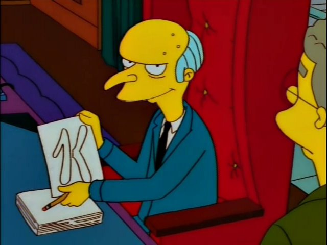 Mr. Burns Special K Screenshot