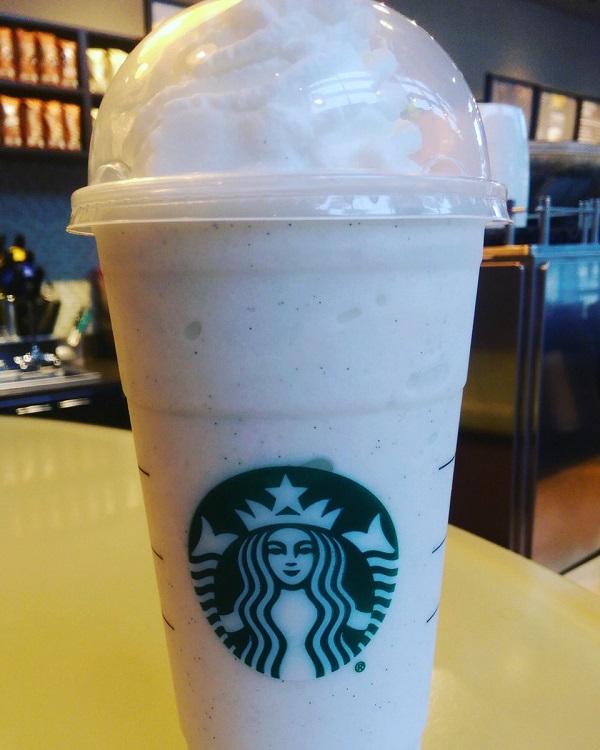 Starbucks Vanilla Bean Creme Frappuccino