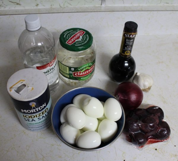 Moe's Pickled Eggs Ingredients One