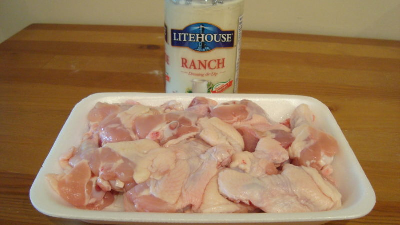 Ranchy Wingy-Thingys Ingredients