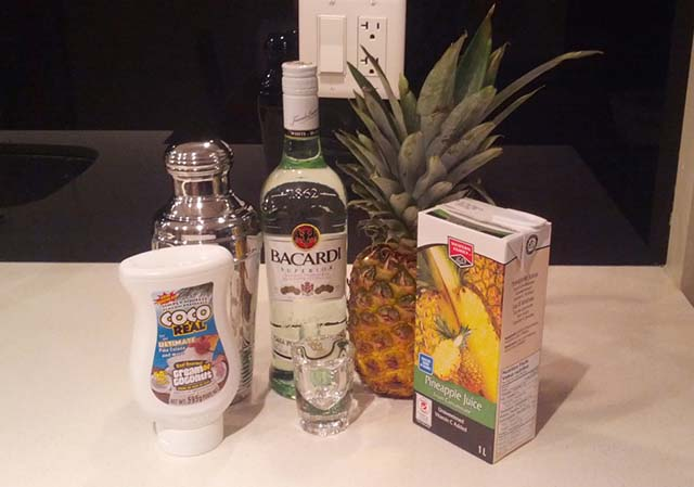 Bacardi Colada Ingredients